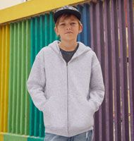Fruit of the Loom Kids Premium Kapuzen Jacke