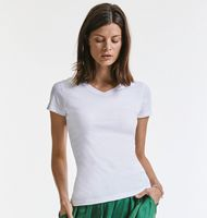 Russell Z103F Ladies' Pure Organic V-Neck T