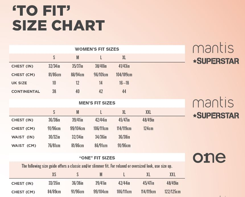 mantisworld sizechart
