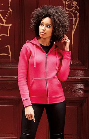 Russell Ladies Authentic Zipped Hood 266F