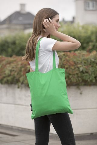 Neutral Shopping Bag - Long Handles