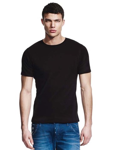 Continental Clothing Men's Classic Interlock Fitted T-Shirt N03B